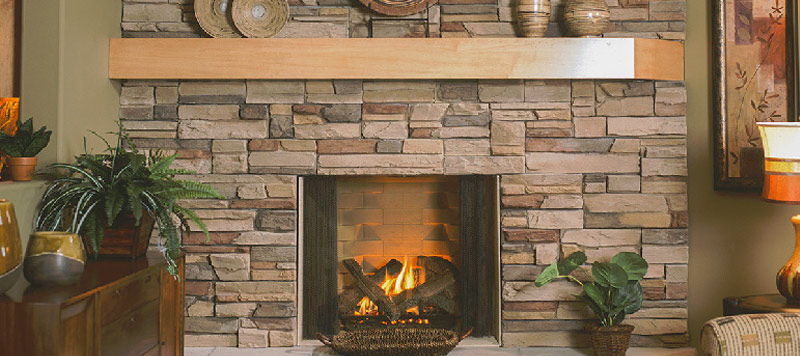 Stone Products – A Cozy Fireplace